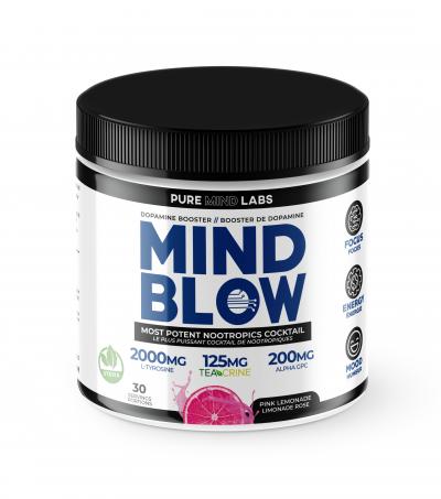 mind blow nootropics pink lemonade