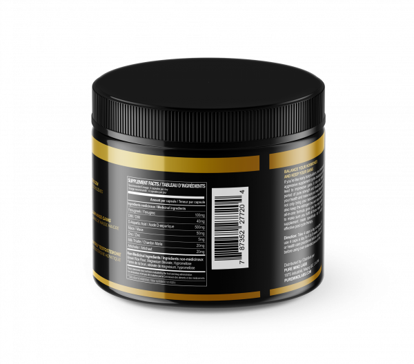 Label testosterone booster