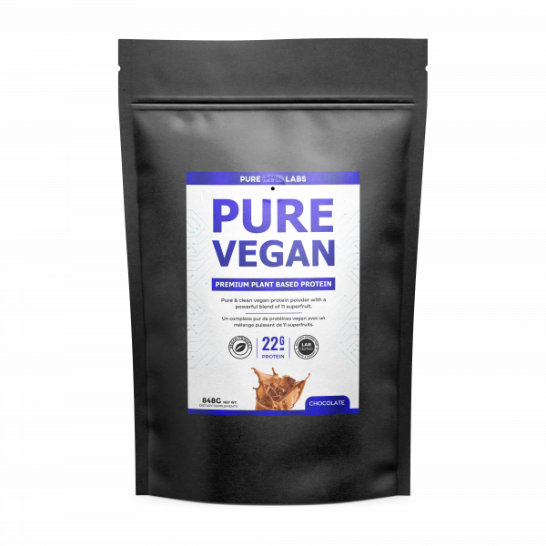 Plant Based protein chocolate flavor