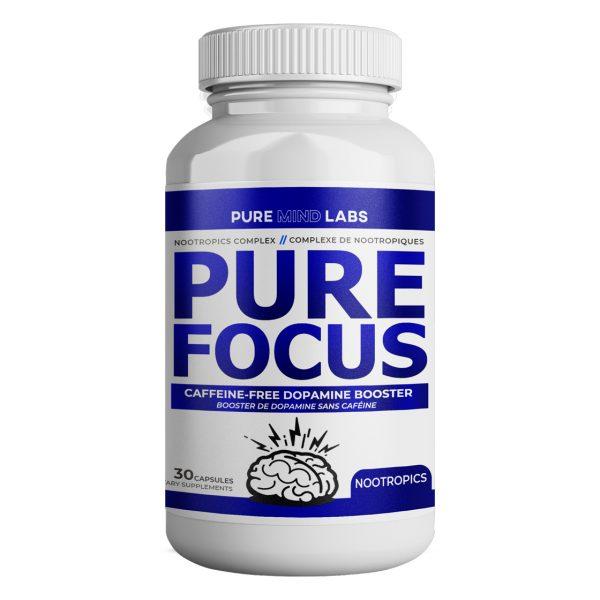 Caffeine-free nootropics pure focus